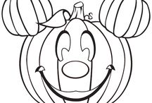 Mickey Mouse Pumpkin Tattoo inspiration