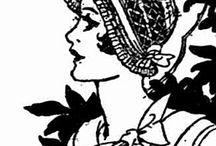 1920s crochet hat