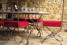 Table Guéridon en fonte