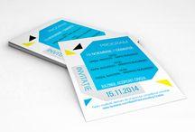 Invitation // Ticket / Graphic design & production