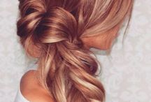 Wedding hair / Bridesmaid hairstyle inspiration