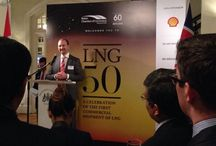 Roger Bounds Explains Shell's Contribution in the LNG industry at the British Chamber of Commerce Event