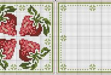 cross stitch biscornu