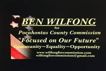 Ben Wilfong for Pocahontas County Commission