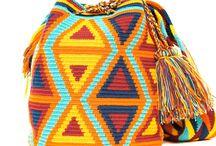 Колумбийская мочила , схемы , узоры