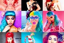 Hedwig makeup hair moodboard