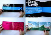 Diseño: Brochures