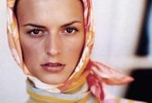 Sth to wear: scarfs.