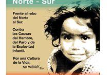Campaña por la Justicia / Hambre, paro y esclavitud infantil son crímenes políticos