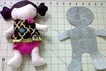 Easy fabric doll.