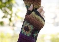 crochet gloves/mittens