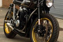 Honda Cafe Racers / Some of the better conversion of Honda into.