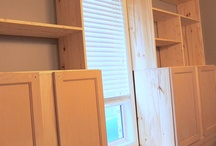 new storage idea / by Lisa Brown
