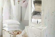 witte vintage meubels