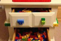Lego's Lego's Lego's...oh and more lego's!