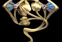 Ontwerp Art Nouveau Art Deco