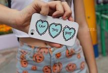 IPhone cases / by Abby Terry