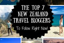 New Zealand travel bloggers / Inspirational bloggers that love NZ as much as we do!