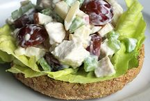 Easy Healthy Lunches / Delicious ideas for light and healthy lunches.