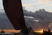 Sailing / From my love of Jimmy Buffet, to my years sailing Haze, Grey and Underway... I've loved the water... Btw.. I almost died on my catamaran ... True story... / by Rob Seaver