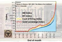 Money in Greece images / Images and graphs on the monetary history of Greece