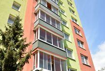 Balkóny a Logie 2 TOP REFERENCIE / Švédsky rámový posuvný systém