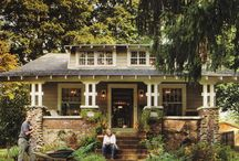 Craftsman Houses - Inside/Out