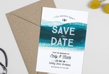 Design Suite // Adventure wedding stationery collection