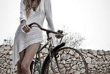 Sesja z rowerem