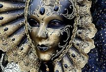 Venetian Masks / Venice and the traditional Carnival, with traditional handmade papier-maché masks by La Fucina dei Miracoli www.maschere.it