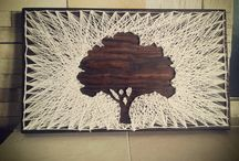Parabol ( string art )