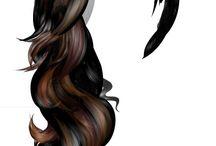 Крутые причёски и волосы❤