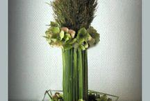 bloemstukje / leuke op maak bloem stukjes algemeen