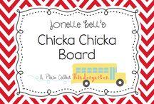 Kindergarten chicka chicka