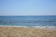 il mare e la spiaggia di Campomarino / Il mare e le spiagge di sabbia di Campomarino The seaside and the sandy beaches of Campomarino