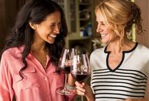 Beneficial Booze...Wine / A glass of red wine may be a fabulous way to de-stress with girlfriends.  But, the best part?  It comes with some happy health benefits. / by Denise Sykes