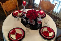 TABLESCAPE INSPIRATION / Tablesettings - Tablescapes - Table Decor Place Settings