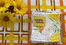 vintage sheet goodness / Inspiration and DIYs for using vintage sheets and vintage fabric in projects