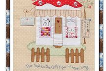 Applique ideas / by Bronwyn Hayes designer for Red Brolly