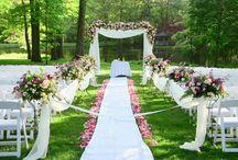 Kır düğünler için mekan süsleme fikirleri / Düğün mekan süslemesi