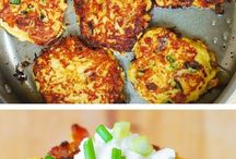 fritters squash bacon