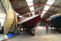 Scheldeschouw / Zeilboot
