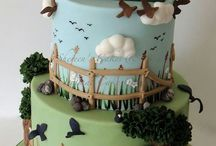 Cakes for the Men and Boys / by Vickie Hefner