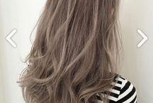 Kül kahverengi saçlar