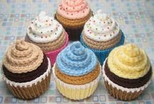 Cakes, Cupcakes, & Other Sweet Treats - Sewn, Crocheted, or Knitted! / Don't you just want to reach out and grab a few to eat!