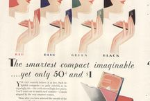 Makeup ads / From vintage to contemporary