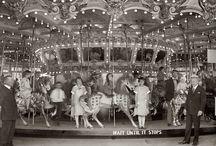 Merry Go Round Carousel / Vintage