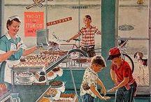 Vintage supermarket/ Grocery Store