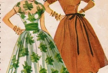 1950s fashion Inspiration / A collection of images we have found and that are influencing our designs
