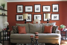 living room decor/colors